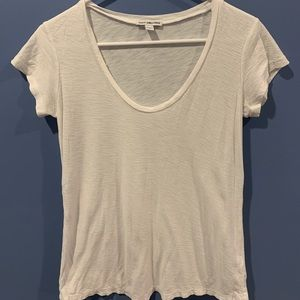 James Perse Woman's Cotton Tee Size 1